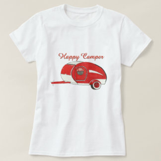 Red Teardrop Camping Women's TeeShirt T-Shirt
