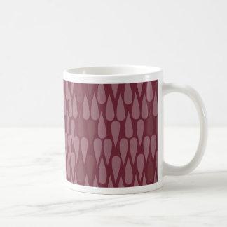 Red Teardrop Mug