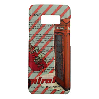 Red Telephone Band Rock n Roll Electric Guitar Case-Mate Samsung Galaxy S8 Case