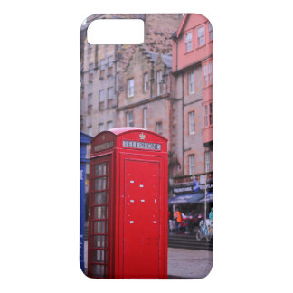 Red Telephone Booth iPhone 7 Case