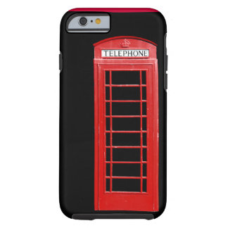 Red Telephone Box iPhone 6 case Tough iPhone 6 Case