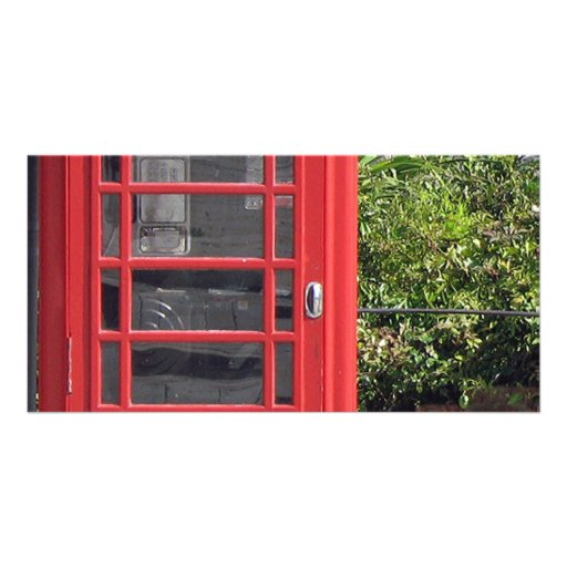 Red Telephone box Photo Cards