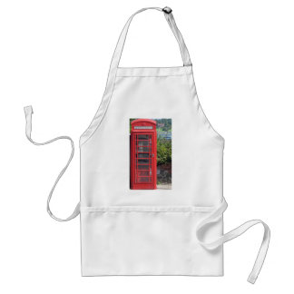 Red Telephone box Standard Apron