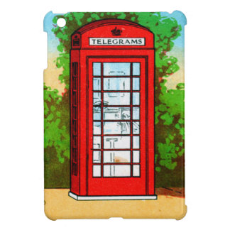 Red Telephone Box UK Vintage Kitsch Case For The iPad Mini
