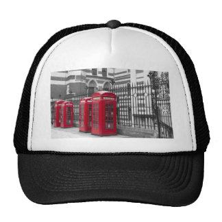 Red Telephone boxes Cap