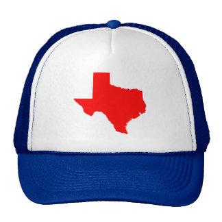 Red Texas Cap