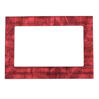 Red Textured Magnetic Picture Frame