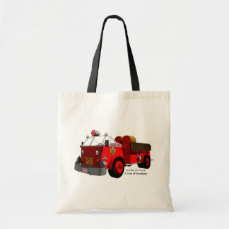 Red the Fire Truck: A Story of Friendship Tote