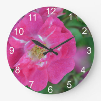 Red Thomas Rose Clock
