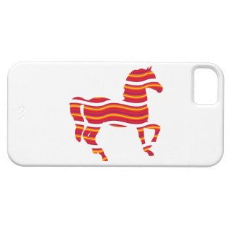 Red Thoroughbred Barely There iPhone 5 Case