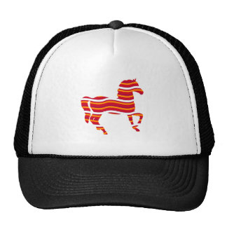 Red Thoroughbred Cap