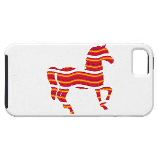 Red Thoroughbred Case For The iPhone 5