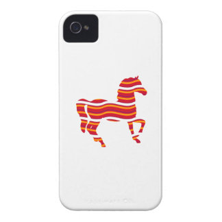 Red Thoroughbred Case-Mate iPhone 4 Case