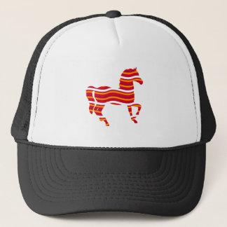 Red Thoroughbred Trucker Hat