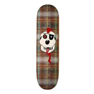Red Thrash Mohawk by greyeyesgabriel 19.7 Cm Skateboard Deck