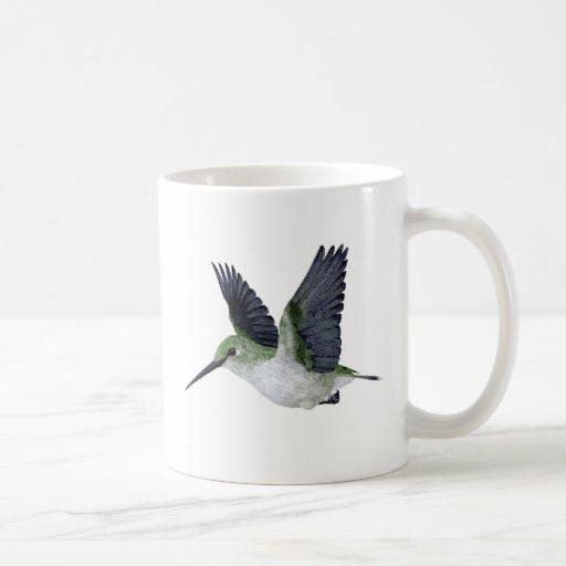 Red Throated Hummingbird Female Coffee Mug