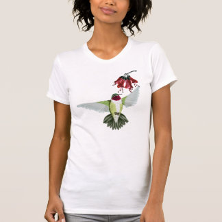 Red Throated Hummingbird Shirts