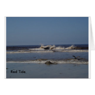 Red Tide Note Card