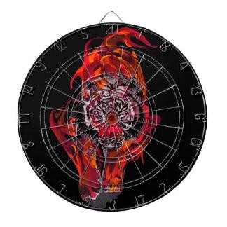 Red Tiger Dartboard