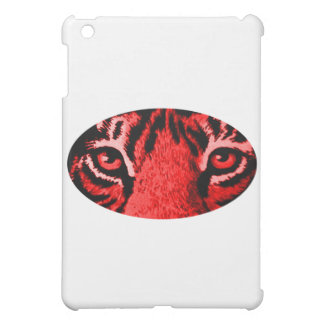 Red Tiger Eyes The MUSEUM Zazzle Gifts iPad Mini Cover