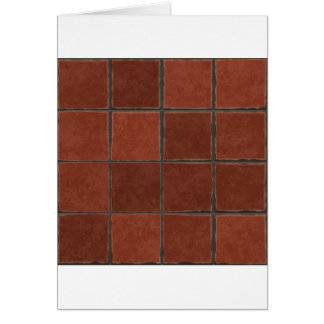 Red Tile Card