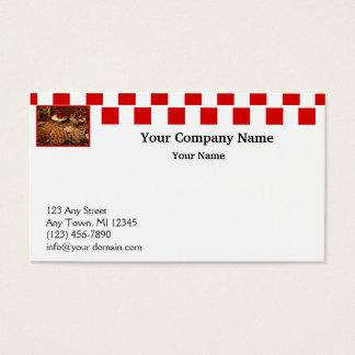 Red Tile Desserts Business Card
