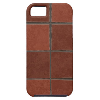 Red Tile iPhone 5 Cover