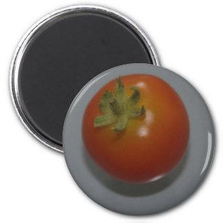 Red Tomato 6 Cm Round Magnet