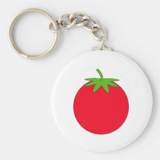 Red Tomato. Basic Round Button Key Ring