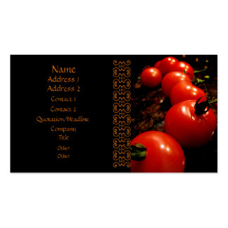 Red Tomato Business Cards