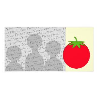 Red Tomato. Customised Photo Card