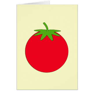 Red Tomato. Greeting Card