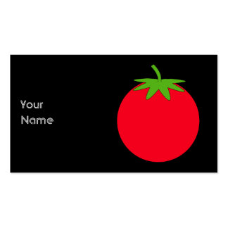Red Tomato. Pack Of Standard Business Cards