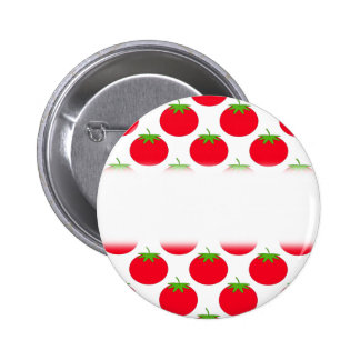 Red Tomato Pattern Buttons