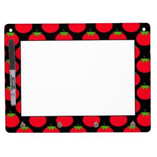 Red Tomato Pattern. Dry Erase Board