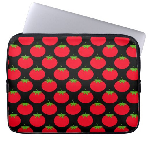 Red Tomato Pattern. Computer Sleeve