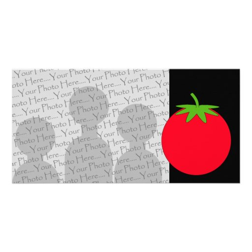 Red Tomato. Personalized Photo Card