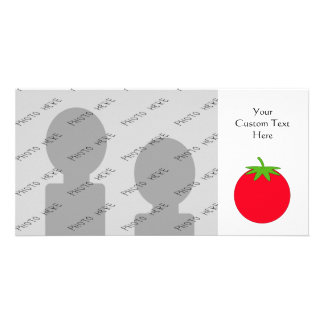 Red Tomato. Customized Photo Card