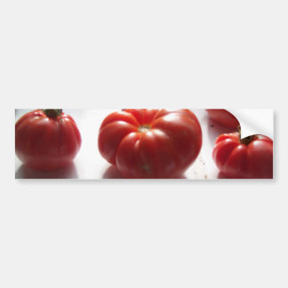 Red Tomatoes Bumper Sticker