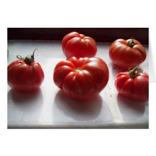 Red Tomatoes card