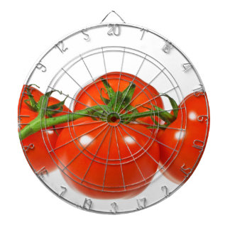 Red tomatoes dartboards