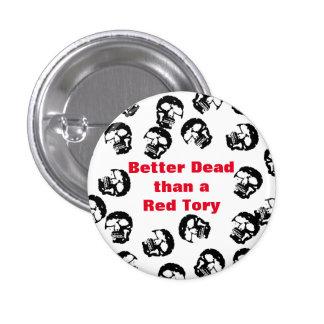 Red Tories Scottish Independence Badge Pin