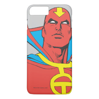Red Tornado Behind Cityscape iPhone 7 Plus Case