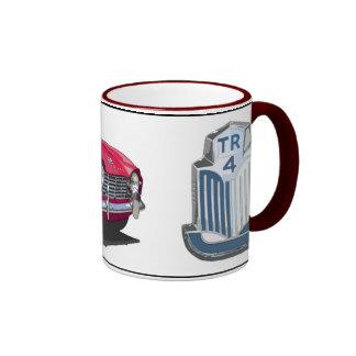 Red TR4 Ringer Coffee Mug