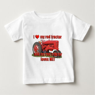 red_tractor_love tee shirt