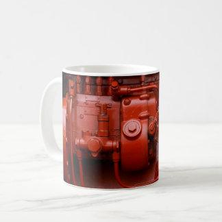 Red Tractor Motor Coffee Mug