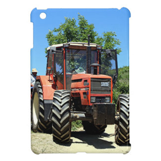 Red Tractor on El Camino, Spain Cover For The iPad Mini