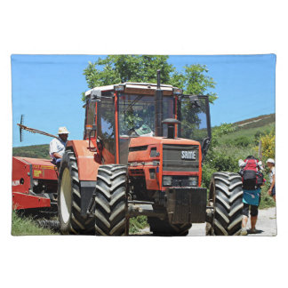 Red Tractor on El Camino, Spain Placemat
