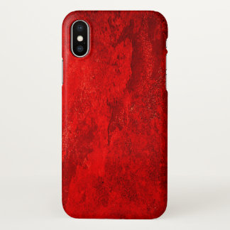 Red Tree - Abstract iPhone X Case