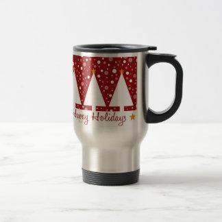Red Trees Holidays - Mug